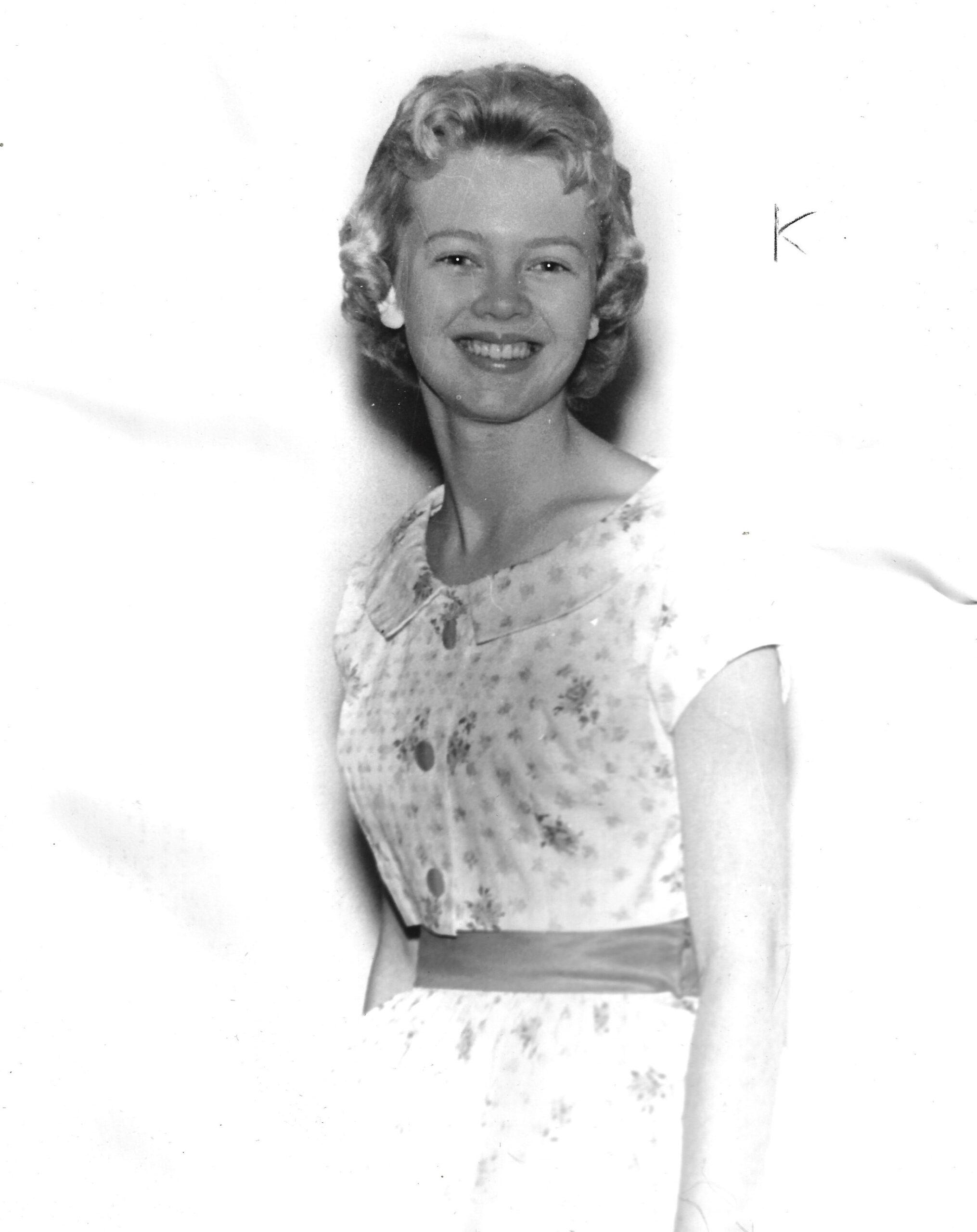 1961 Lincoln County Fair Queen