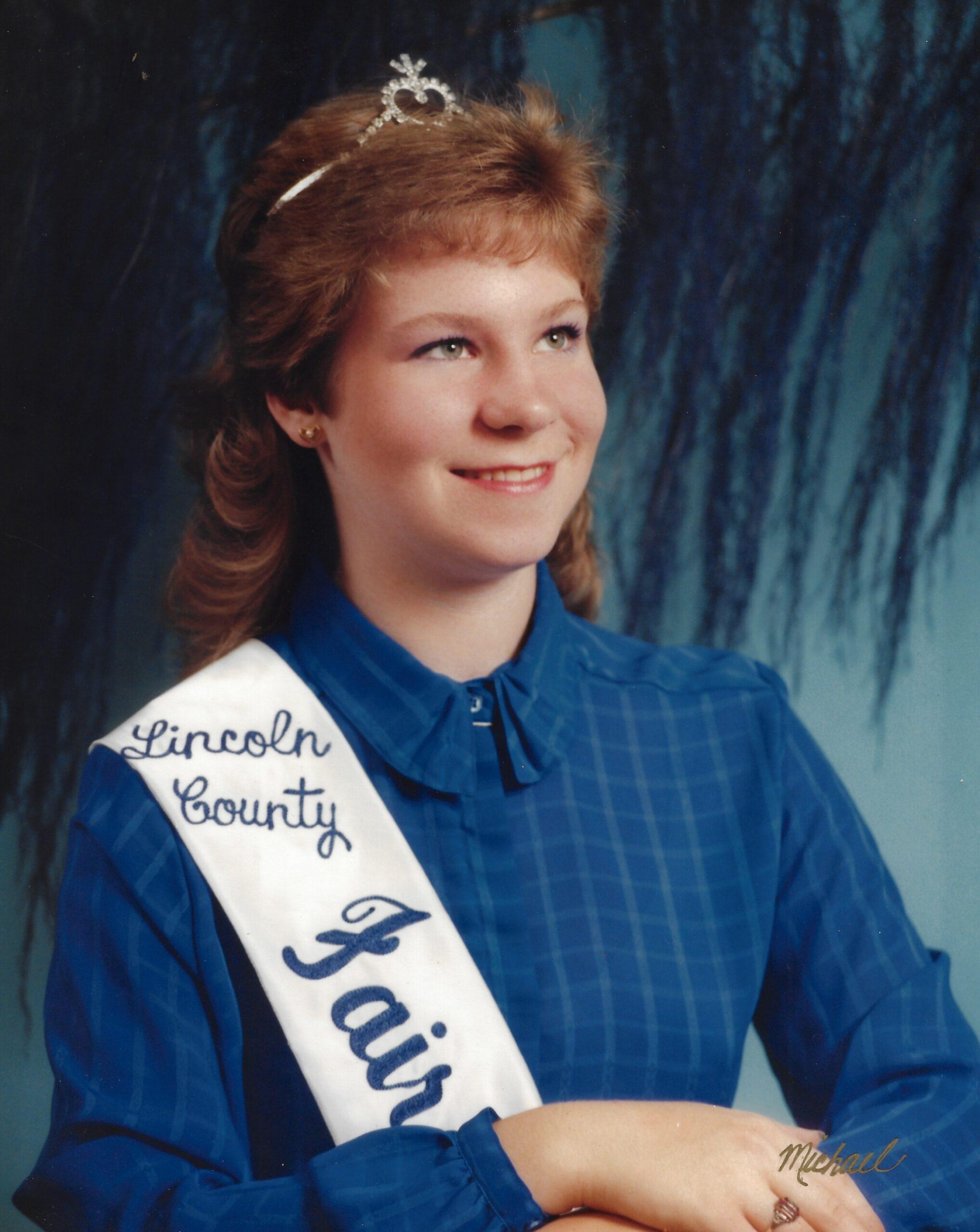 1983 Lincoln County Fair Queen