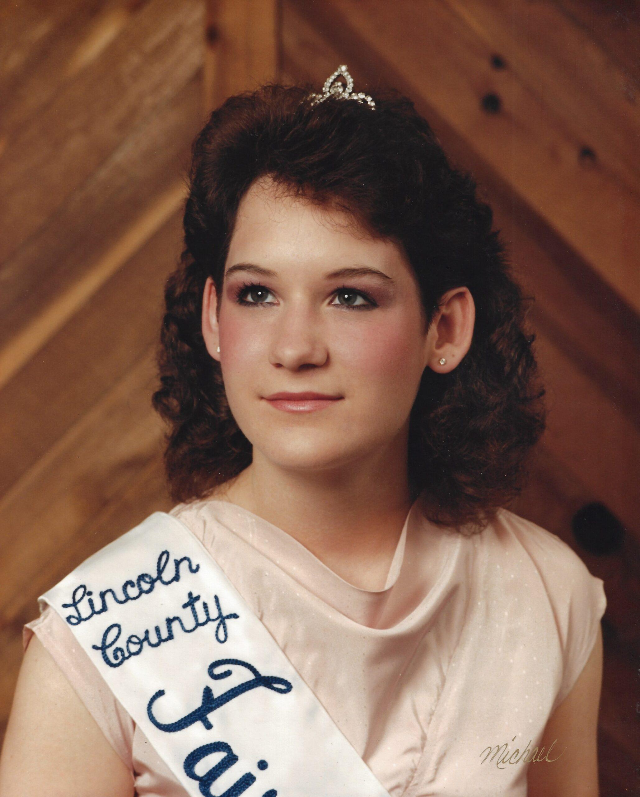 1984 Lincoln County Fair Queen