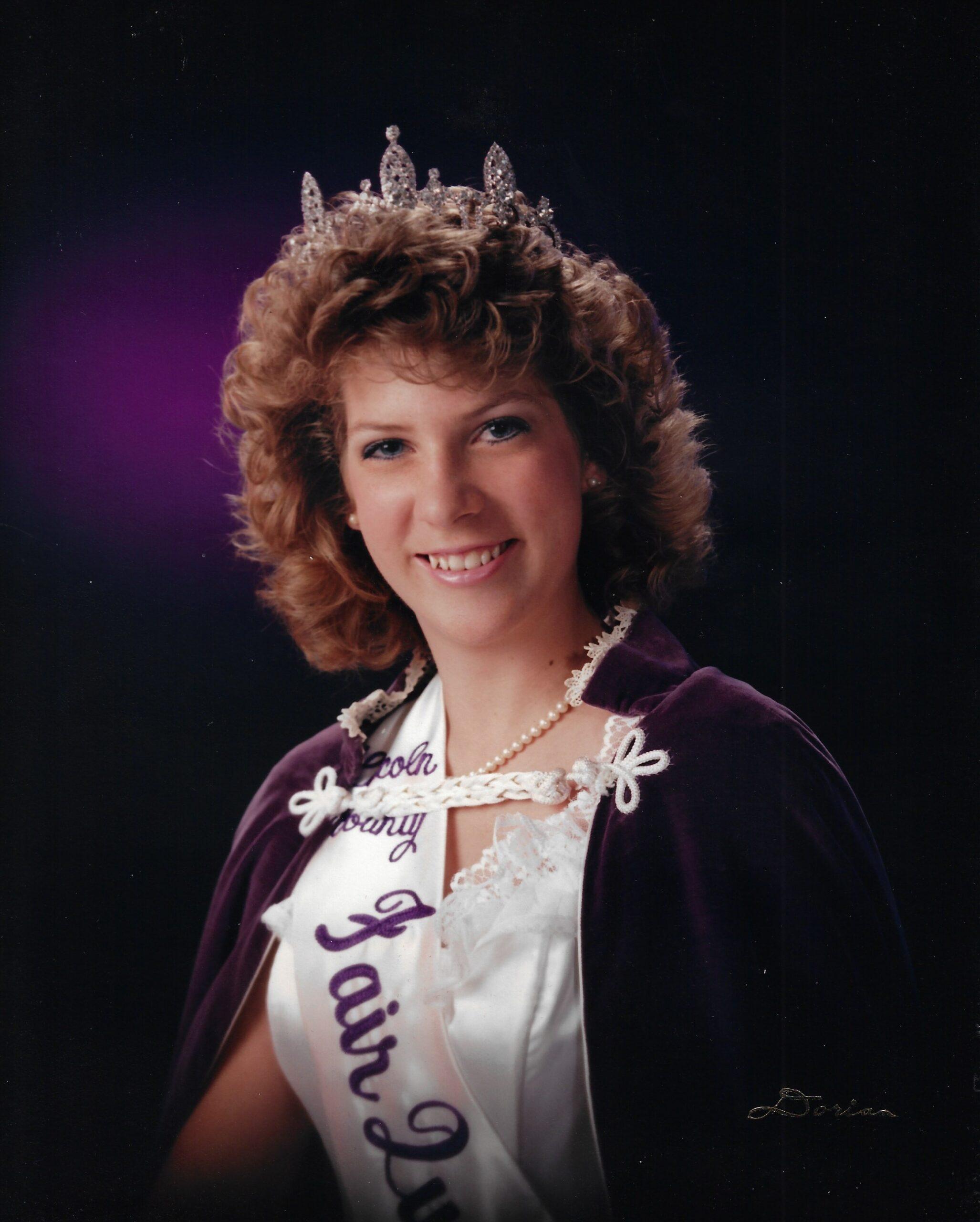 1987 Lincoln County Fair Queen