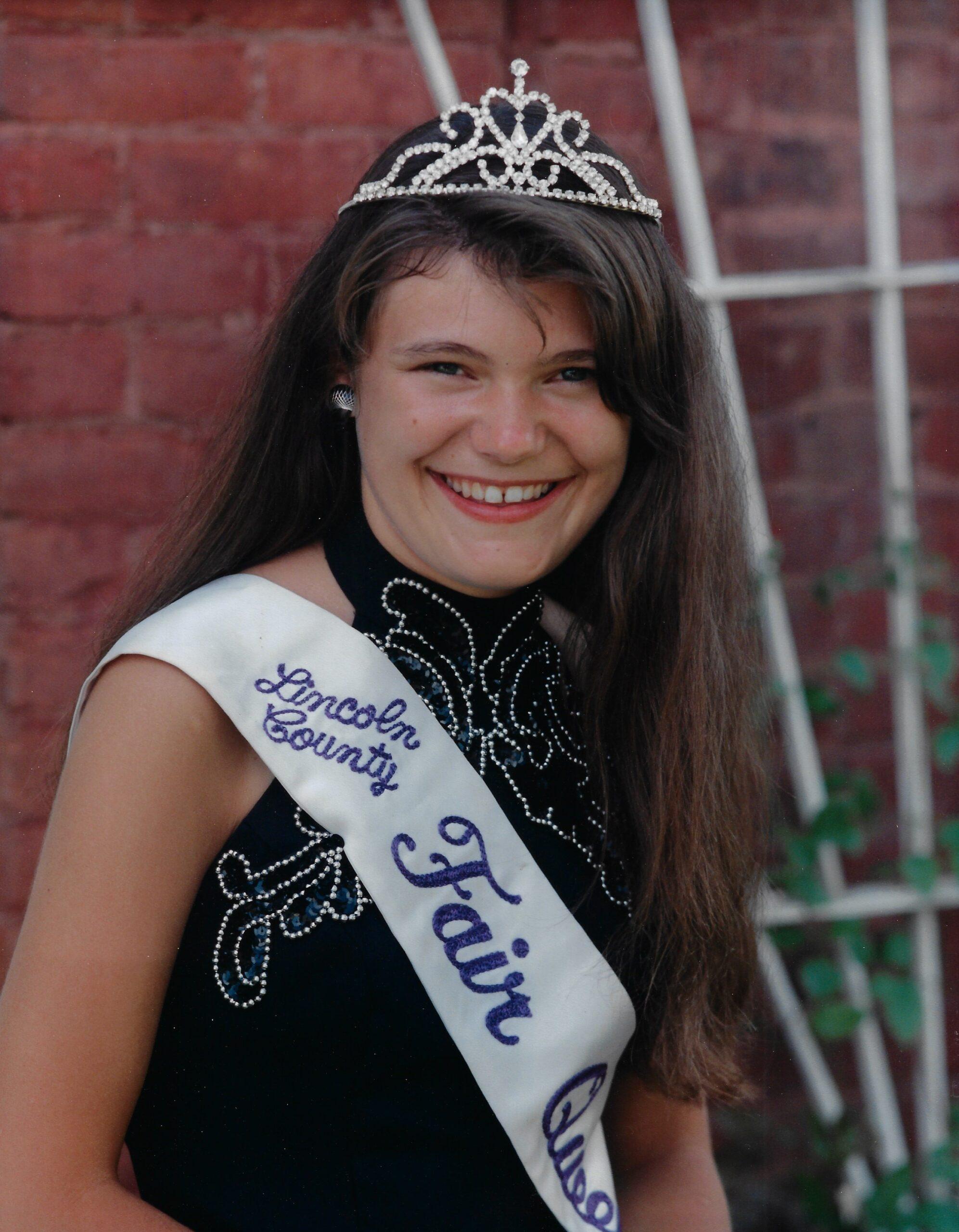 1993 Lincoln County Fair Queen